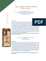 Garcia Aguilar - Imagen Y Memoria Cultural Fotografia Del Libro Antiguo