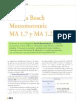 Sistema de Inyección Monomotrónic