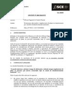 048-14 - Of. REG. CONTROL HUARAZ - Prestaciones Adicionales y Ampliaciones de Plazo en Exoneraciones Por Desabastecimiento Inminente (T.D. 4387540 y 4564545)