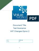 Eproc 2 VAT Test Results & Notes.doc