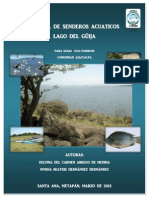 MANUAL DE SENDEROS ACUATICOS DEL LAGO DE GUIJA, EL SALVADOR