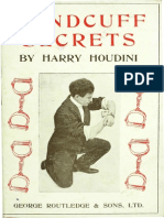 Handcuff Secrets by Harry Houdini