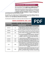 Plan de Restriccion Del Servicio 18 Agosto 2014