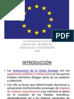 UE Institusiones Integracion