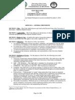 2014 University of San Carlos - SSC Election Code