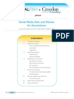 Social Media, Risk, and Policies for Associations