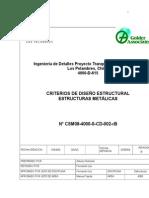 CSM08 4000 S CD 002 RB Criterio de Diseño Estructural AC