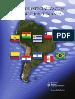 Libro Curso de Especializacion en DDHH