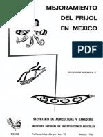 Mejoramiento Del Frijol en Mexico No. 13