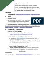 EDTK3304 Agenda Class#1 2014-15 (1)