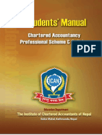 Chartered Accountancy Scheme Syllabus