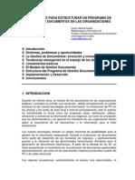 Directrices Para Estructurar Un Programa de Gestion de Documentos en Las Organizaciones