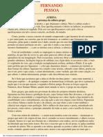 Fernando Pessoa - Athena