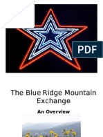 Blue Ridge Mountain Exchange Overview