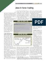 Forex Trading - Avoiding Mistakes