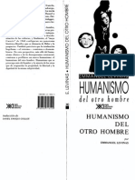 Levinas Emmanuel - Humanismo Del Otro Hombre