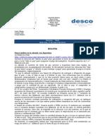 Noticias - News 13-Ene-10 RWI-DESCO