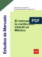 El Mercado de La Confección Para Infantes en Mexico - ICEX