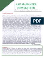 [17] AAR Mahaveer Newsletter Jan 2015