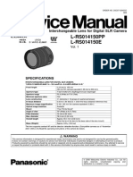 Camara Digital Lente Panasonic Dmw Fl360