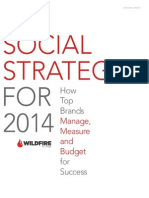 Social Strategies for 2014