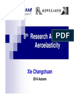 L8 Research Areas of Aeroelasticity