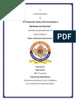 Big Bazaar n Easy Day Report