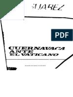 Suárez - Cuernavaca Ante El Vaticano