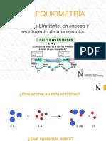 ESTEQUIOMETRÍA - Reactivo Limitante-