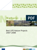 Best LIFE-Nature Projects 2007-2008