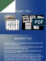tali-130205212219-phpapp01.odp