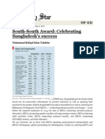 South South Award - Celebrating Bangladesh's Success