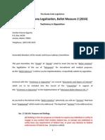 Alaska Marijuana Ballot Initiative--(Epperly's Testimony in Opposition)