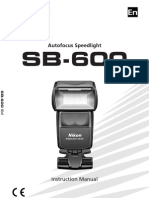 Nikon Speedlight SB-600 (English)