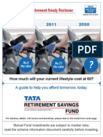 Tata Retirement Savings Fund - Ready Reckoner