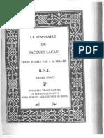 Lacan RSI-Ornicar