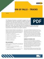 Prevention Falls Trucks