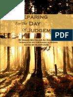 Preparing for the Day of Judgement by Imam Ibn Hajar Al-Asqalani