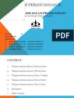 Tahap Analisis Dalam Proses Design by Kelompok 3 Fix