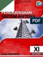 Perekayasaan Sistem Antena Xi-1 (a)