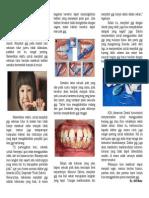 Pentingnya Menyikat Gigi Sebelum Tidur