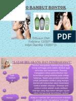 Kosmetologi shampo rambut rontok