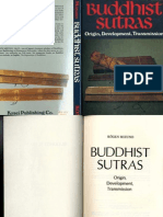 Buddhist Sutras, Their Original, Development, Tranmission - K Mizuno (1982)
