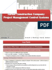 Project Management Turner Construction Company Project Management Control Systems