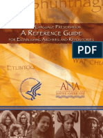 Native Language Preservation Reference Guide