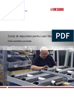 Manipulare Eficienta Lean Manufacturing
