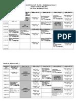 Jadwal Kegiatan Blok III-2010-2011