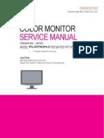 Manual Servico Monitor Lcd Lg Flatron w1752t Pft