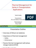2_10AllCellTech_Said AlHallaj_Safety and Thermal Management for Lithium Ion Batteries in Transport Applications