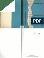Antología de La Poesía Uruguaya Contemporánea, Tomo 1